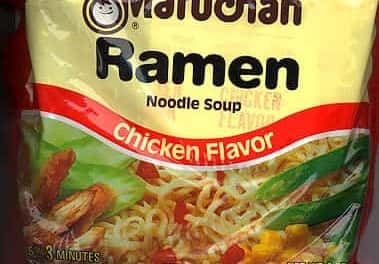 Ramen. It builds character.